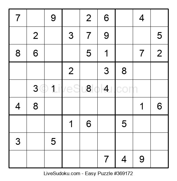 Beginners Puzzle #369172
