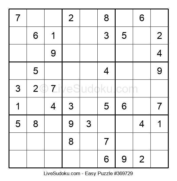 Beginners Puzzle #369729