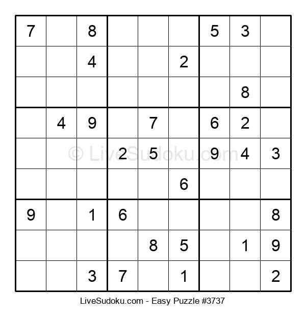 Beginners Puzzle #3737