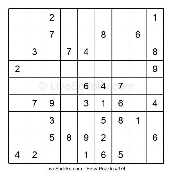 Beginners Puzzle #374