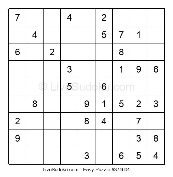 Beginners Puzzle #374604
