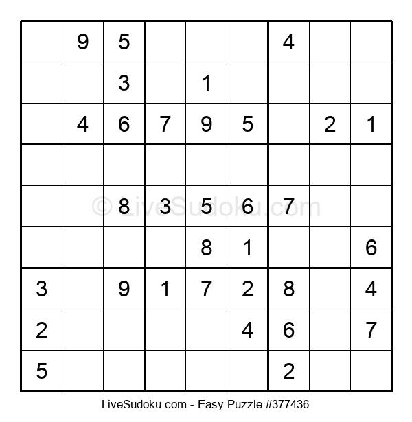 Beginners Puzzle #377436