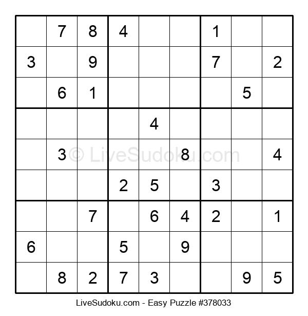 Beginners Puzzle #378033