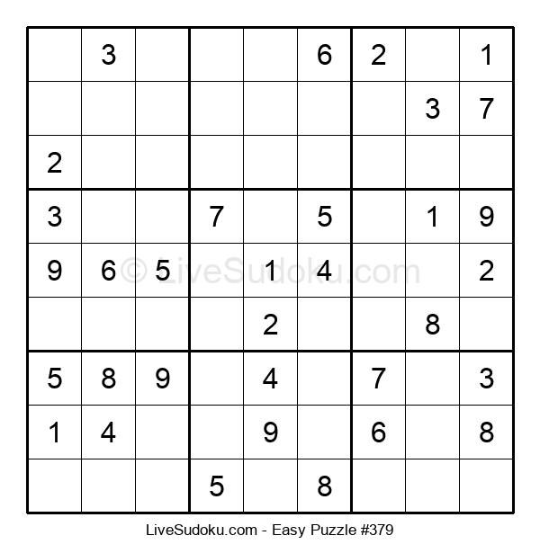 Beginners Puzzle #379