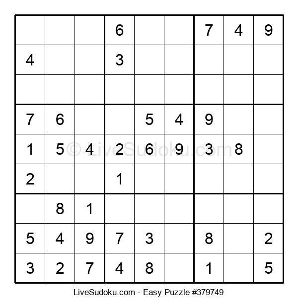Beginners Puzzle #379749
