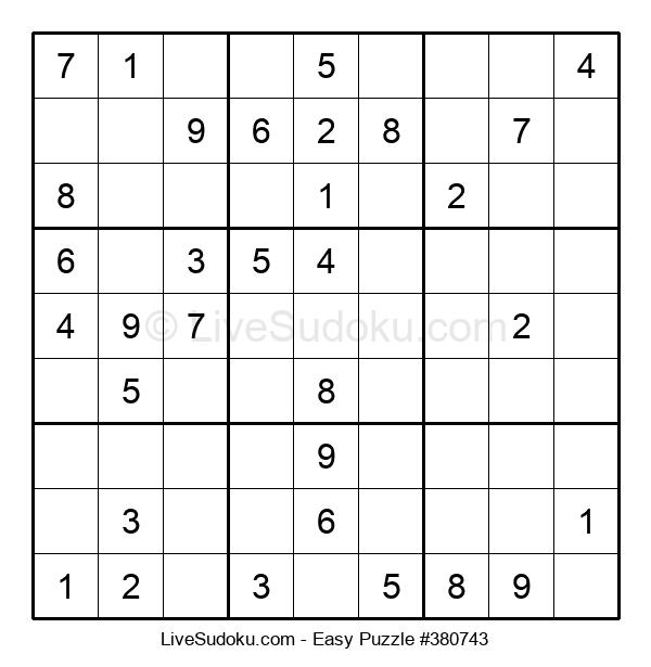 Beginners Puzzle #380743