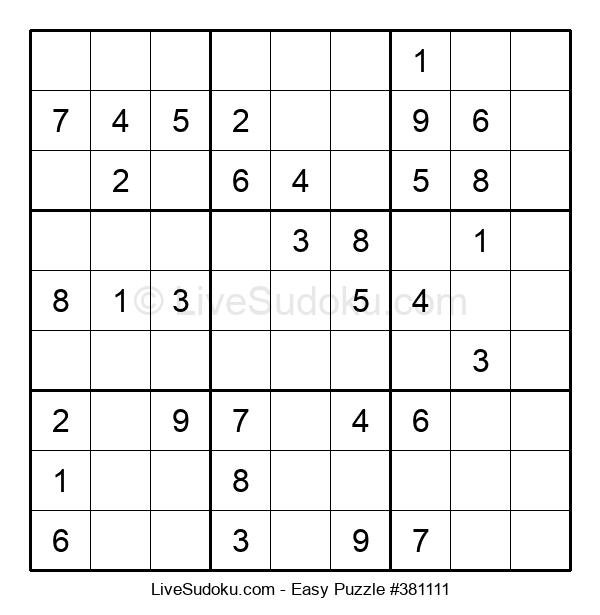 Beginners Puzzle #381111