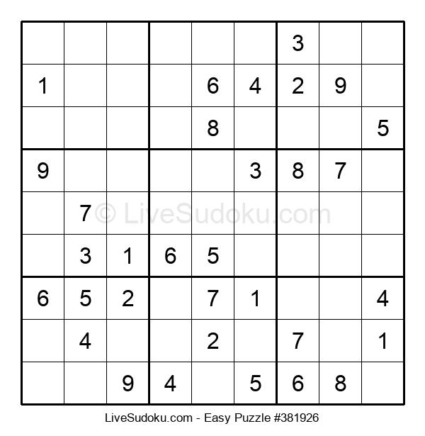 Beginners Puzzle #381926