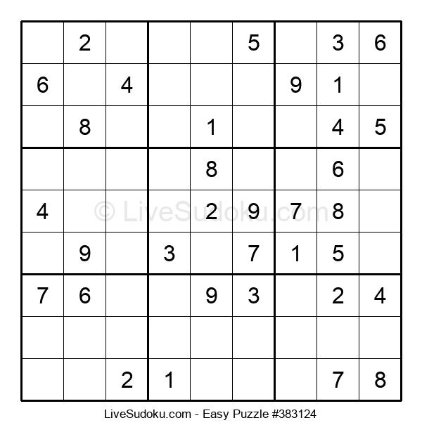 Beginners Puzzle #383124