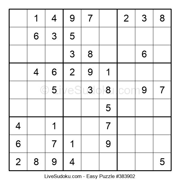 Beginners Puzzle #383902