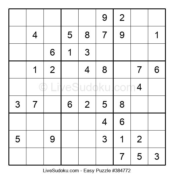 Beginners Puzzle #384772