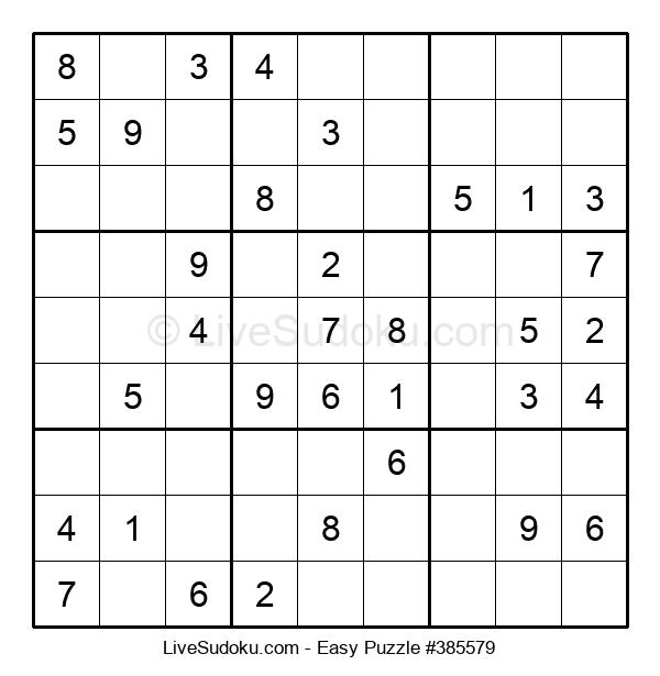 Beginners Puzzle #385579