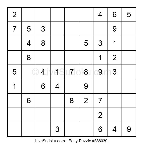 Beginners Puzzle #386039
