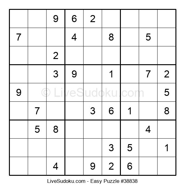 Beginners Puzzle #38838