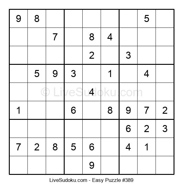 Beginners Puzzle #389
