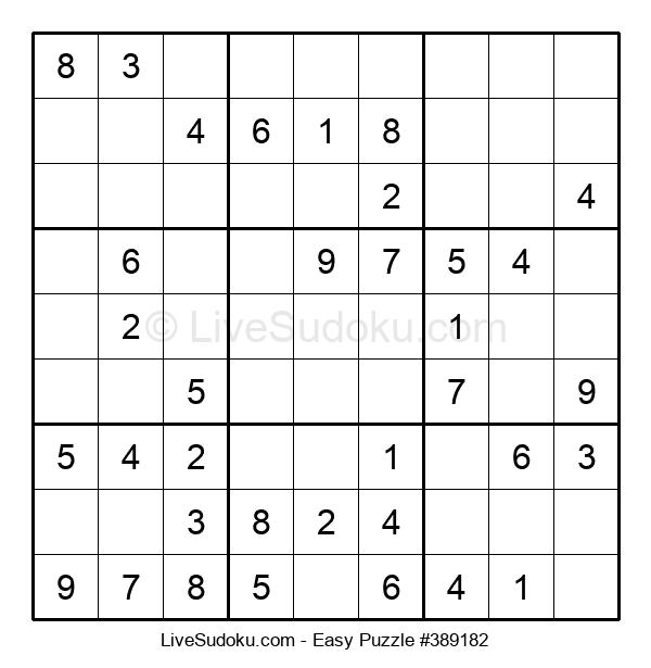 Beginners Puzzle #389182