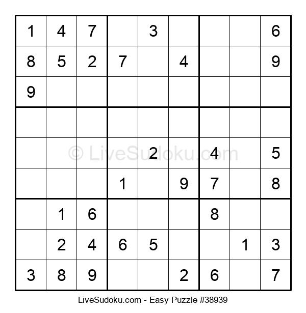 Beginners Puzzle #38939