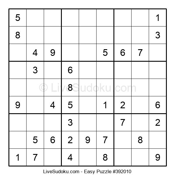 Beginners Puzzle #392010