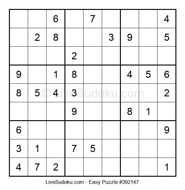 Beginners Puzzle #392147