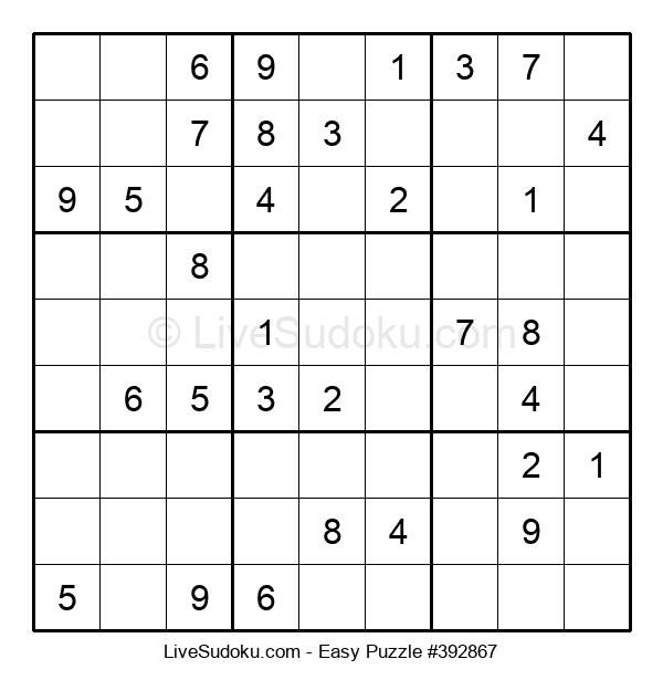 Beginners Puzzle #392867