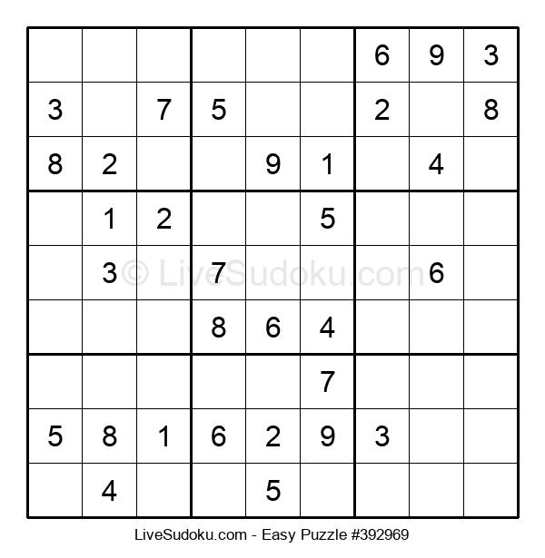 Beginners Puzzle #392969