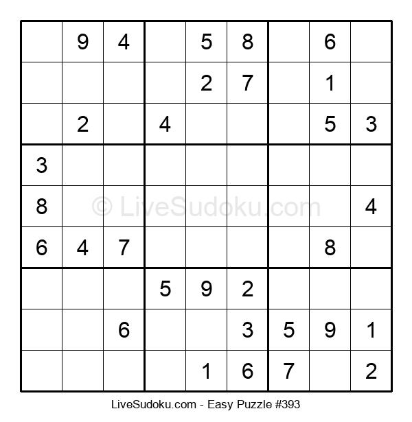 Beginners Puzzle #393