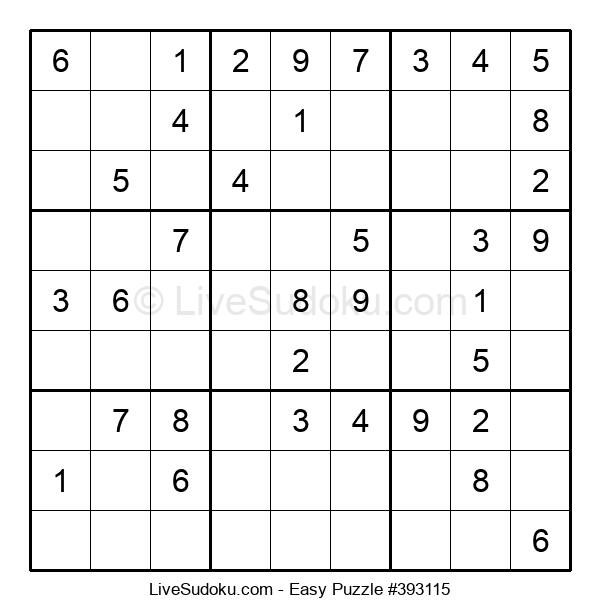 Beginners Puzzle #393115