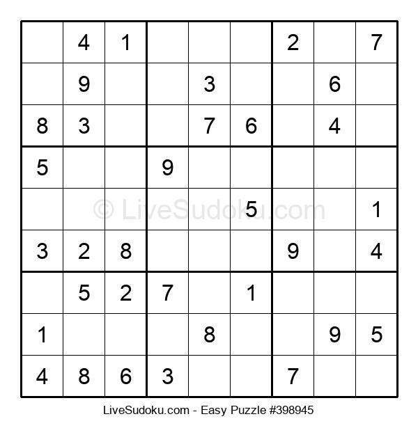 Beginners Puzzle #398945