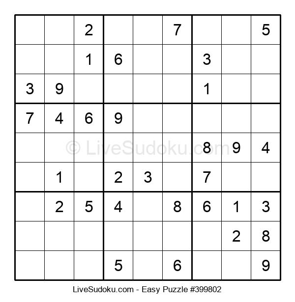 Beginners Puzzle #399802