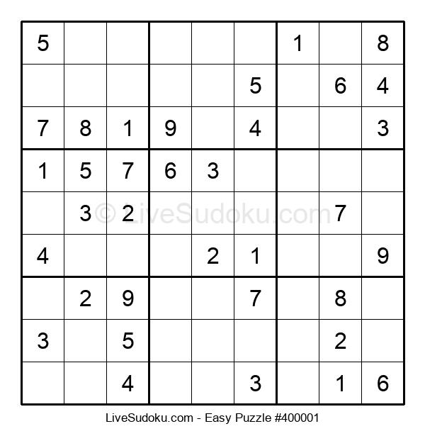 Beginners Puzzle #400001