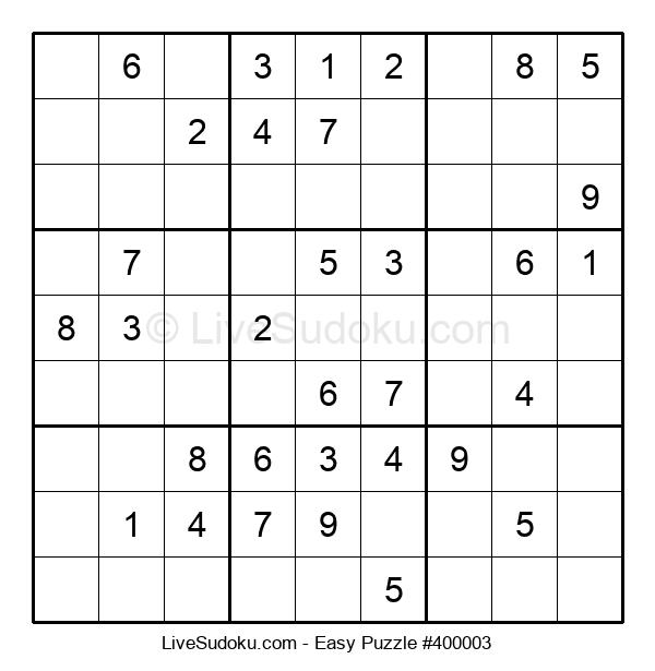 Beginners Puzzle #400003
