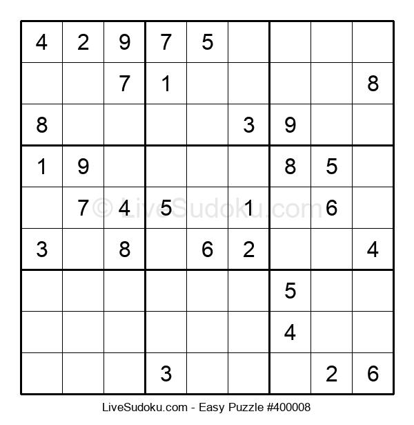 Beginners Puzzle #400008