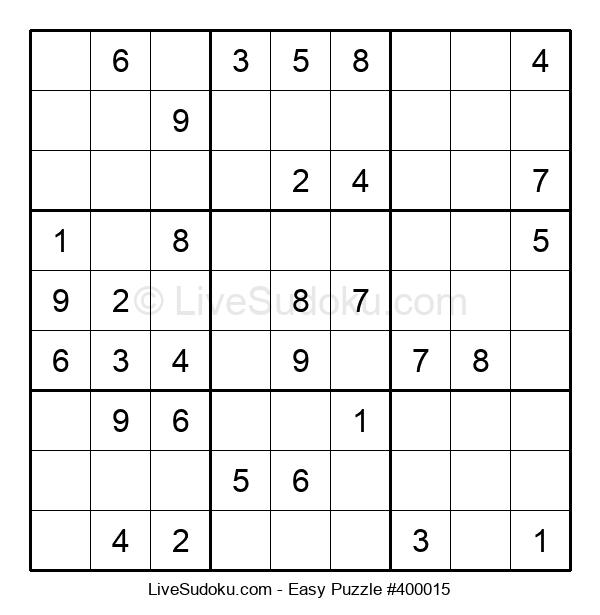 Beginners Puzzle #400015