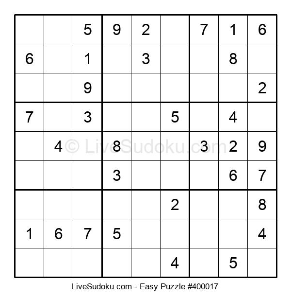 Beginners Puzzle #400017