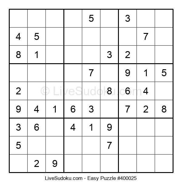 Beginners Puzzle #400025