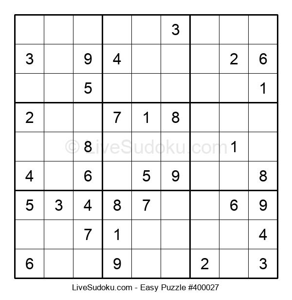 Beginners Puzzle #400027