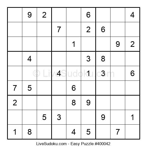 Beginners Puzzle #400042