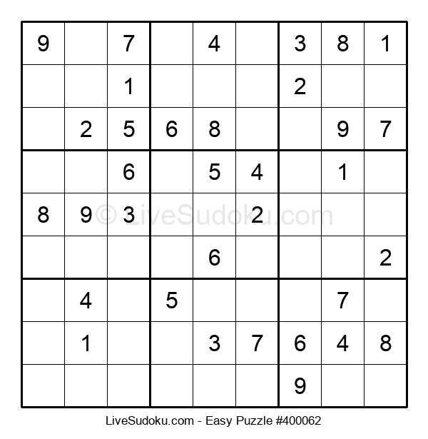 Beginners Puzzle #400062