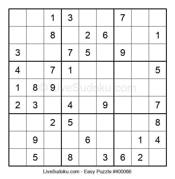 Beginners Puzzle #400066