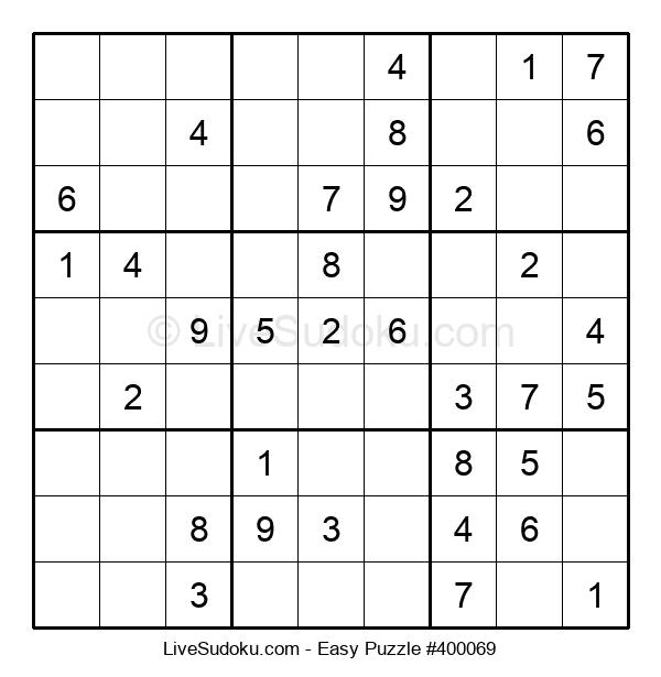 Beginners Puzzle #400069