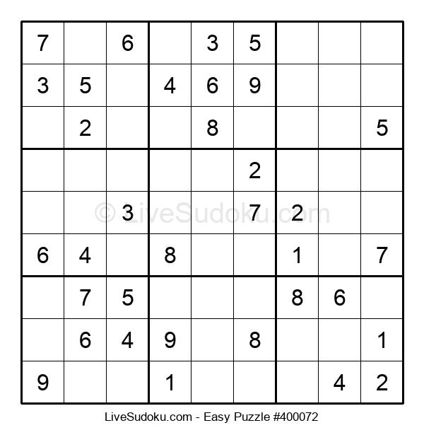 Beginners Puzzle #400072