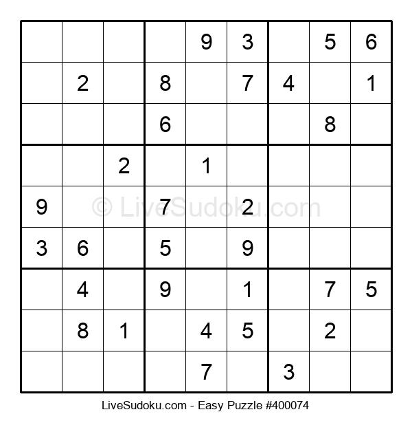 Beginners Puzzle #400074