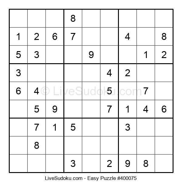 Beginners Puzzle #400075