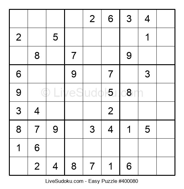 Beginners Puzzle #400080