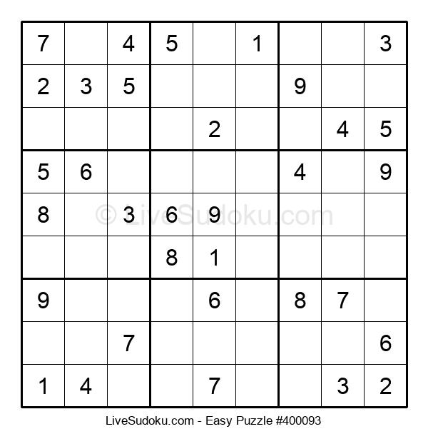 Beginners Puzzle #400093