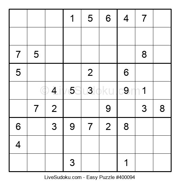Beginners Puzzle #400094