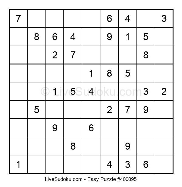 Beginners Puzzle #400095