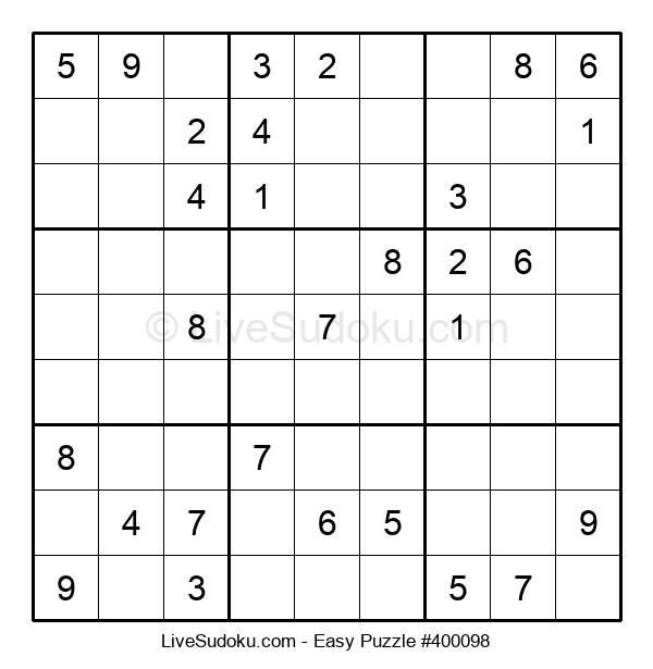 Beginners Puzzle #400098