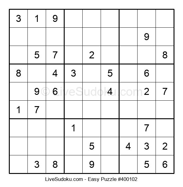 Beginners Puzzle #400102