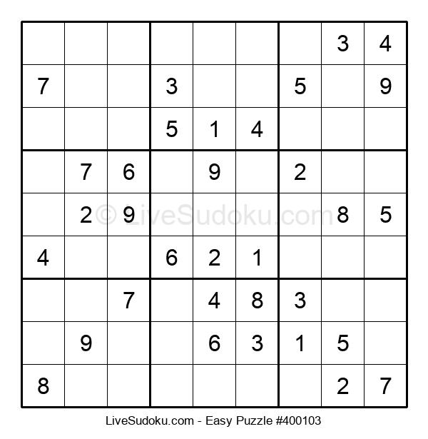 Beginners Puzzle #400103
